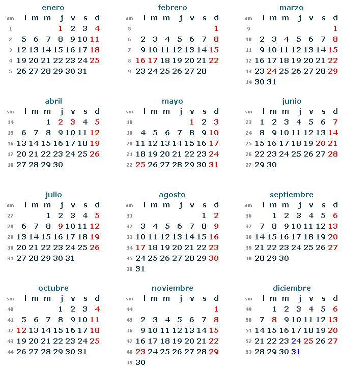 Conoc los feriados del 2015 tu noticia for Calendario 2015 ministerio del interior