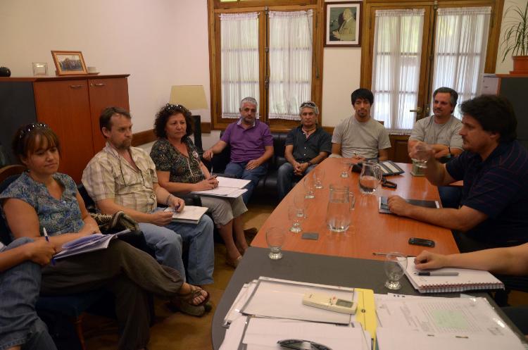 nqn reunión entre aten y gobierno foto mati subat 16-12-2014