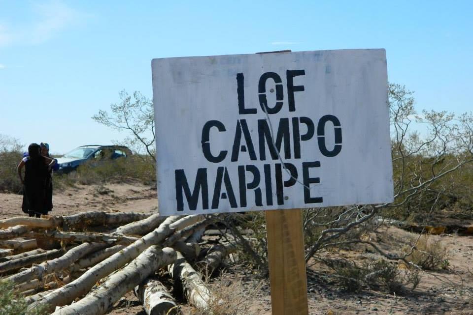 cartel_comunidad_campo_maripe