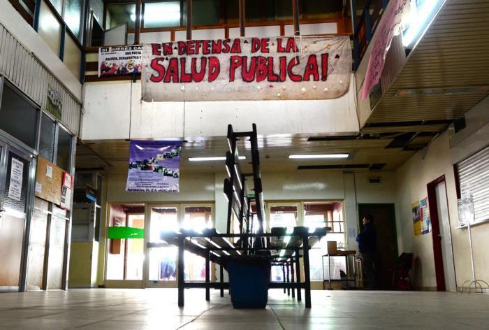 neuquen 26/06/2014 Segunda jornada de paro en salud
