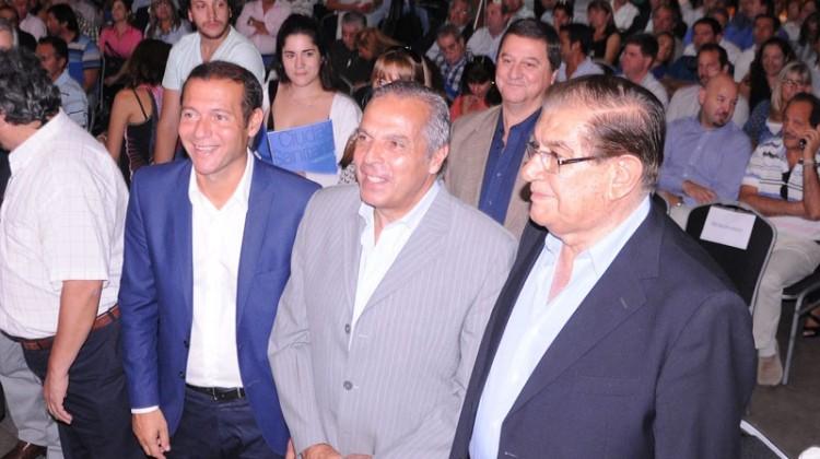 Jorge Sapag participó de la presentación de la futura Ciudad Sanitaria de Neuquén