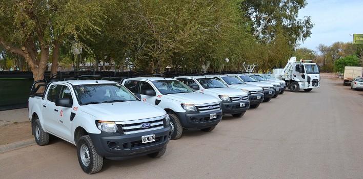 El EPEN renovó su flota vehicular