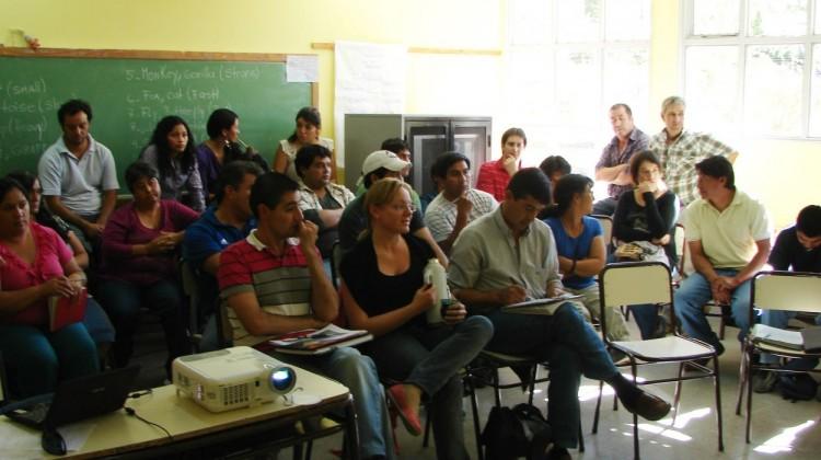 """Más de 40 participantes en el taller """"Desactivando la violencia"""" en Las Coloradas"""