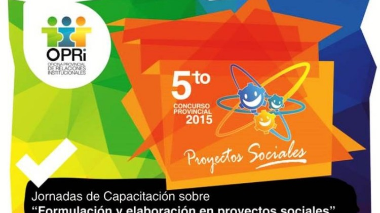 Prorrogan el cierre del Concurso Provincial de Proyectos Sociales