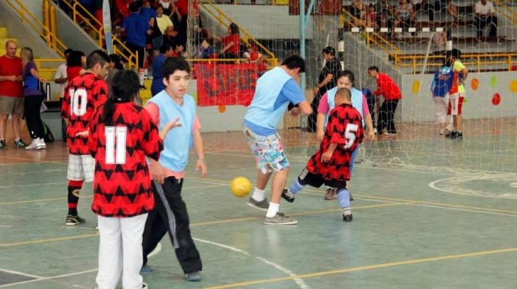 la quinta edición del torneo Metegol para personas con discapacidad