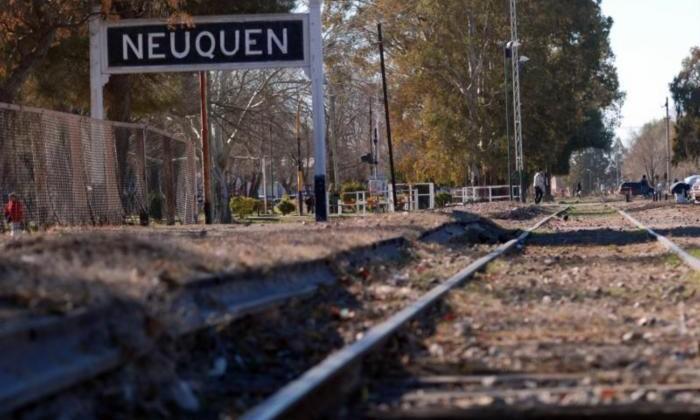 neuquén: estación de tren