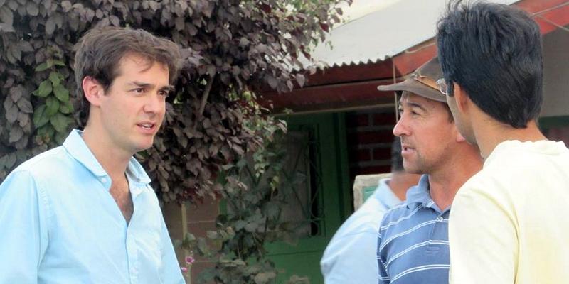 Leandro López, candidato a diputado nacional por Cambiemos.