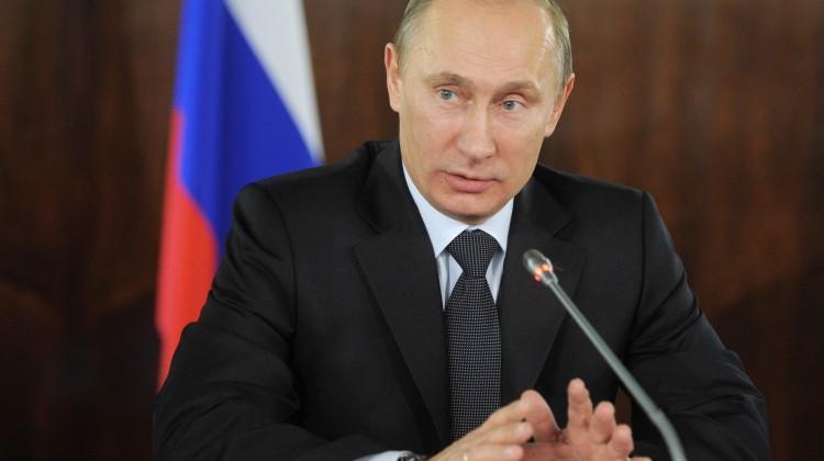 Russian Prime Minister Vladimir Putin sp