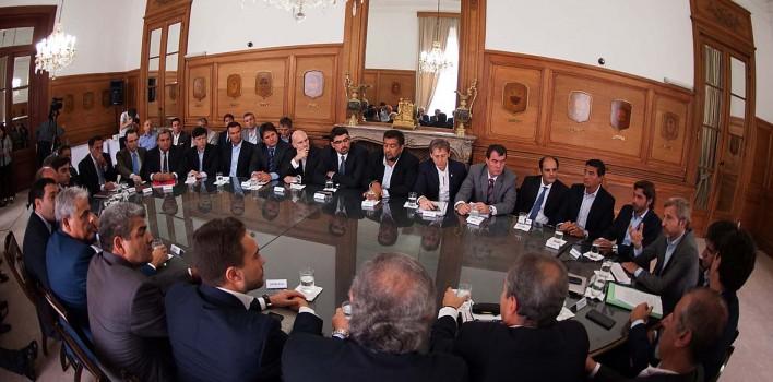 Buenos-Aires-21-01-2016-Reunión-del-Ministro-Lic.-Rogelio-Frigerio-con-Ministros-de-Gobierno-y-Justicia-de-las-provincias.-2-H-708x350