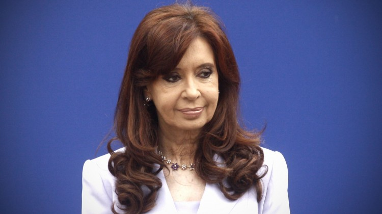 DYN12, PARANA - ENTRE RIOS 17/12/14, LA PRESIDENTA CRISTINA FERNANDEZ,  DURANTE LA CUMBRE DEL MERCOSUR QUE SE REALIZA EN PARA ENTRE RIOS.FOTO.DYN/ALBERTO RAGGIO.