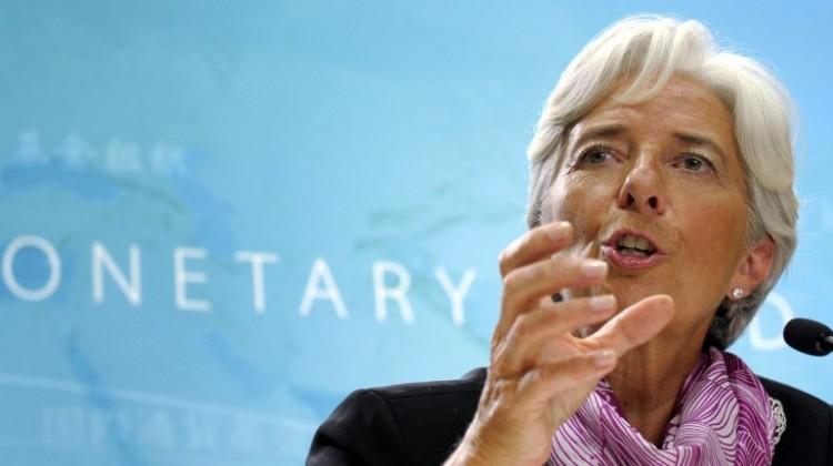 La directora del organismo, Christine Lagarde.