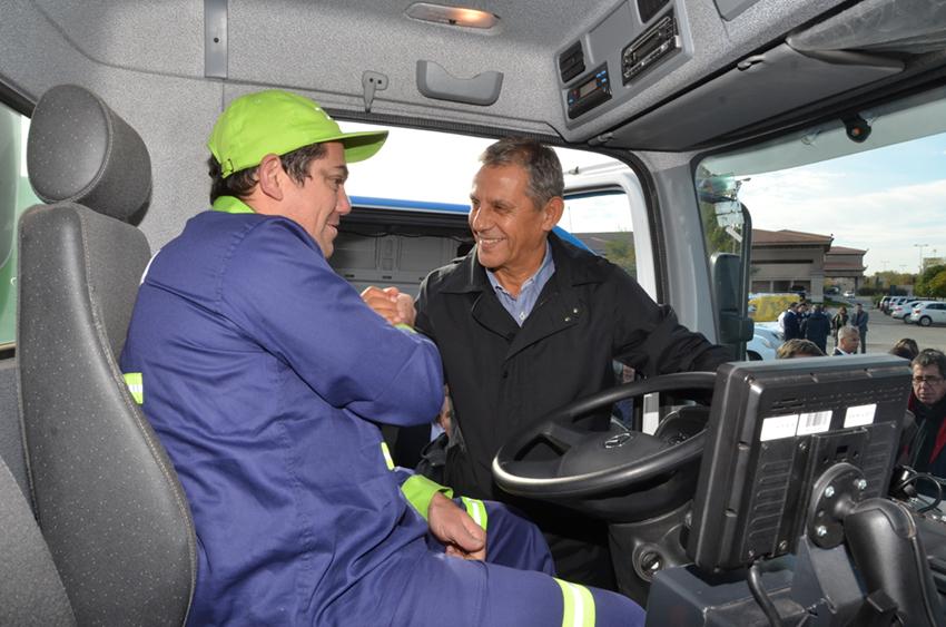 pechi camiones residuos