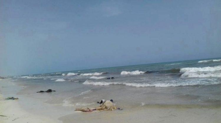 Migrantes muertos libia