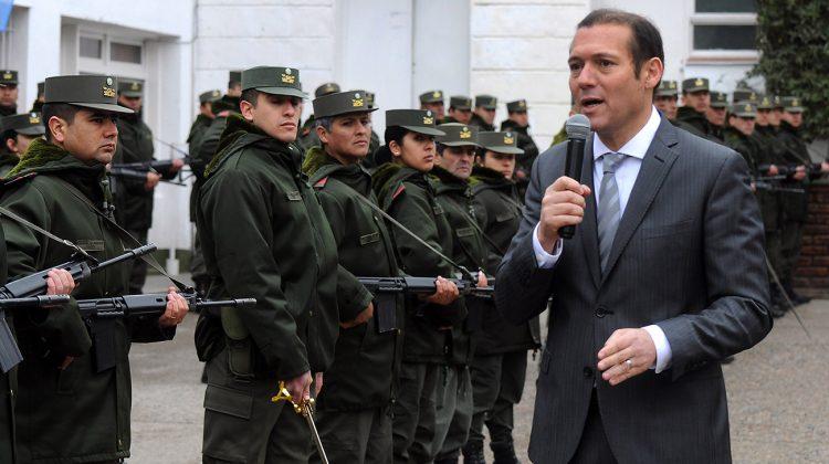 Acto Aniversario Gendarmeria participo Gobernador Omar Gutierrez