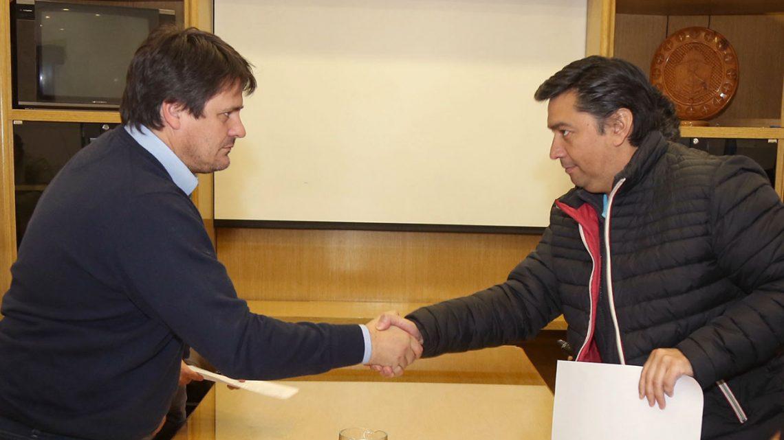 Firma acuerdo salarial con el gremio de UPCN Ministro Mariano Gaido