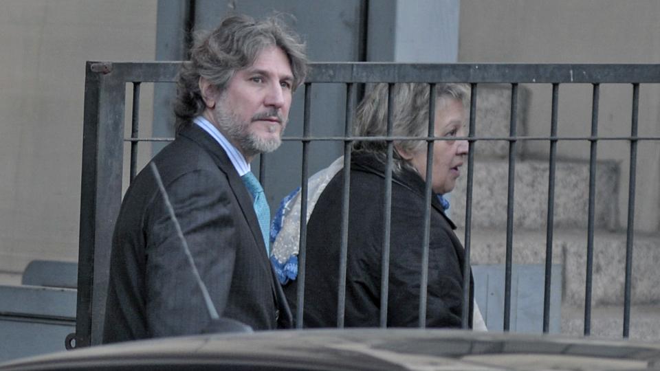 El ex vicepresidente, Amado Boudou, se retira de los tribunales de Comodoro Py. Buenos Aires, Argentina, Miercoles, Junio 8, 2016.