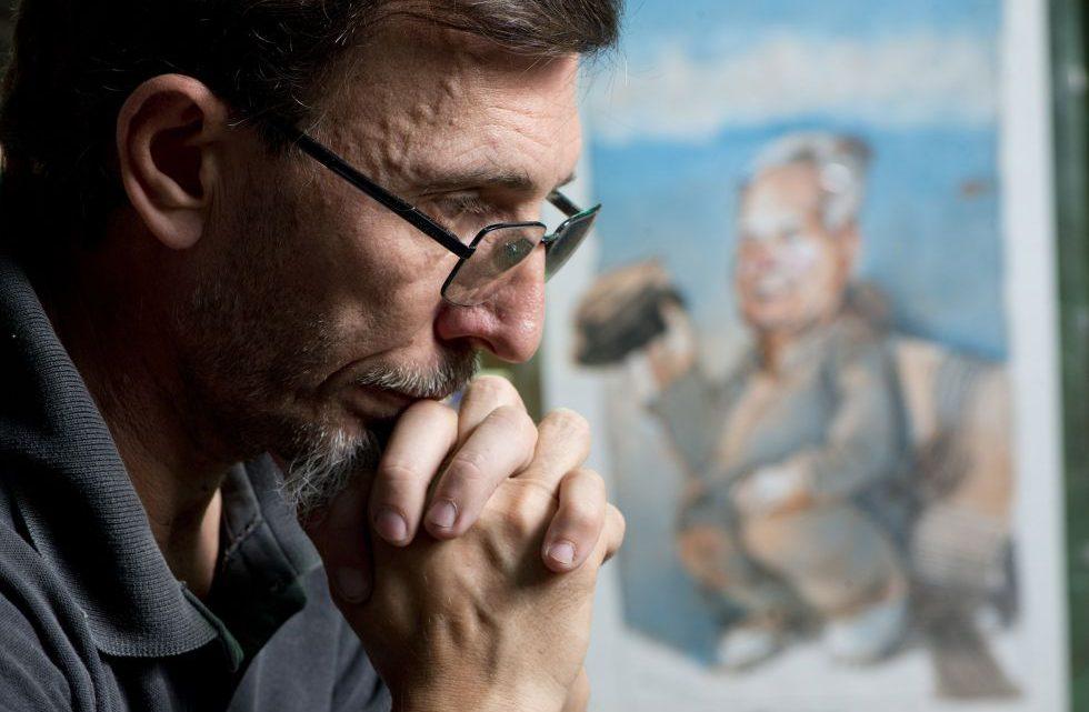 Rubén, hijo de Julio López.