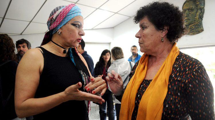 30-09-2016 Patricia Maiztegui subsecretearia de la mujer seminario regional sobre  prostitucion y trata de personas
