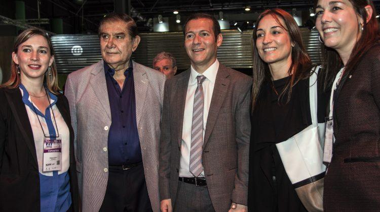 Buenos Aires 01-10-2016 Gobernador Omar Gutierrez en Feria Internacinal de Turismo