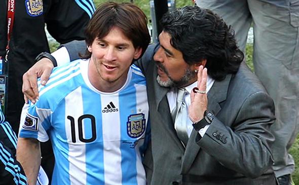 Messi-y-Maradona