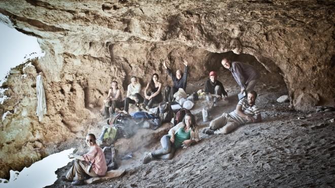Grupo de arqueólogos responsables del hallazgo. Gentileza.