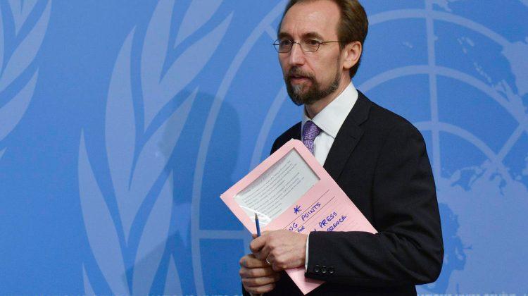 Zeid Ra'ad al Hussein, comisionado de Derechos Humanos de la ONU.