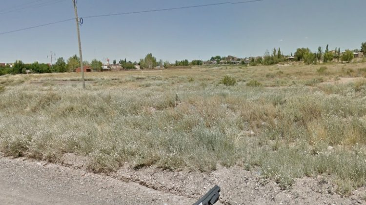 Lugar donde se encuentra la nueva toma en Parque Industrial.