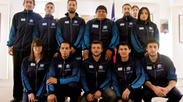 Selección argentina de KUNG FU que competirá en el Mundial de Taiwán