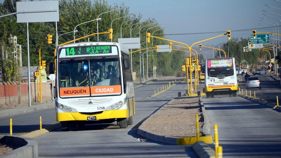 Choferes de Autobuses Neuquén inician el sábado con retención de tareas