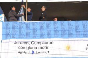 La municipalidad homenajeó a los Veteranos y Caídos en Malvinas