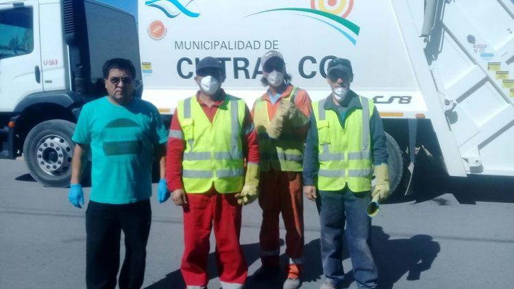 Recolectores de basura de Cutral-Co salvaron a una beba