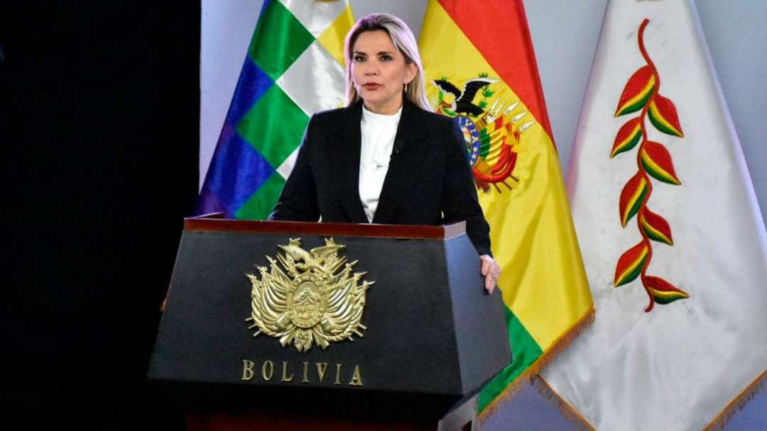 La presidenta interina de Bolivia dio positivo a Coronavirus