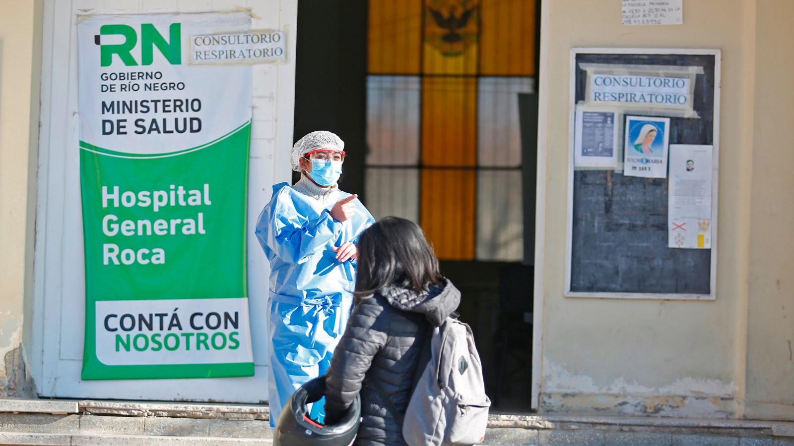 Río Negro registró una nueva muerte y 26 casos nuevos de Coronavirus