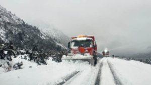 Vialidad dispuso el cierre preventivo de la Ruta 40 entre Bariloche y El Bolsón