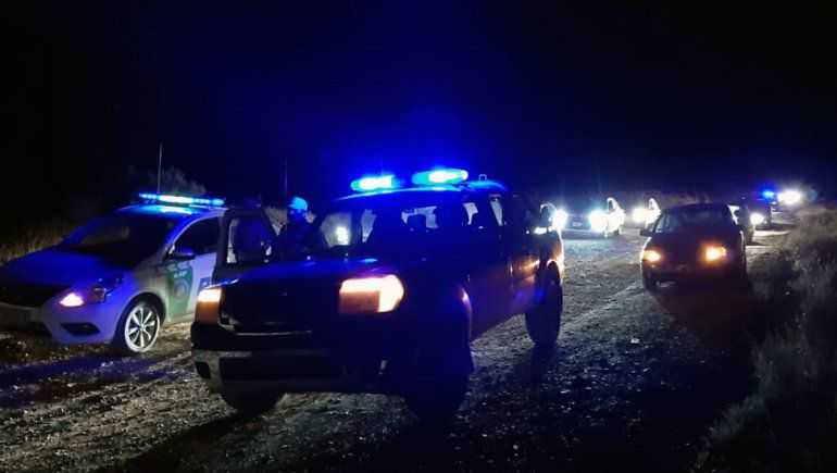 Otra fiesta clandestina fue desbaratada camino al lago Pellegrini