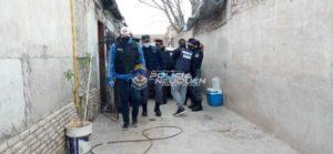 Tras una denuncia por amenazas con arma de fuego demoraron a 4 hombres
